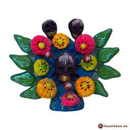 Árbol de la vida mexicano calaveras - Tienda Mexicana Online - Huastekoo España - H00660