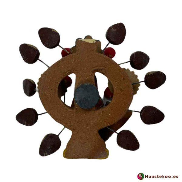 Árbol de la vida mexicano modelo sirena H00659 a la venta en la tienda de artesanía y regalos originales mexicanos Huastekoo España - 2