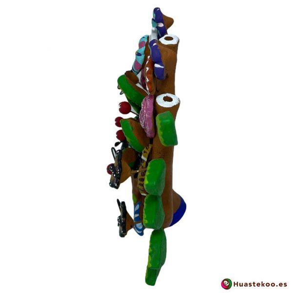 Árbol de la vida mexicano pequeño - Tienda de Artesanía y Regalos Mexicanos - Huastekoo España - H00663 - 3