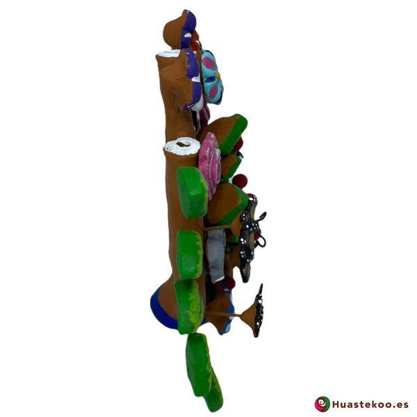 Árbol de la vida mexicano pequeño - Tienda de Artesanía y Regalos Mexicanos - Huastekoo España - H00663 - 4