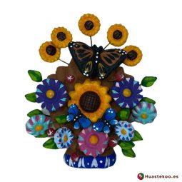 Árbol de la vida mexicano H00656 - Tienda de Artesanía y Regalos Originales Mexicanos - Huastekoo España