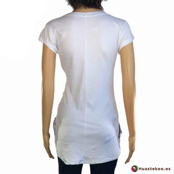 Blusa Camiseta Mexicana Fridalia H00035 - Tienda Online de Regalos Originales Mexicanos Huastekoo España - 2