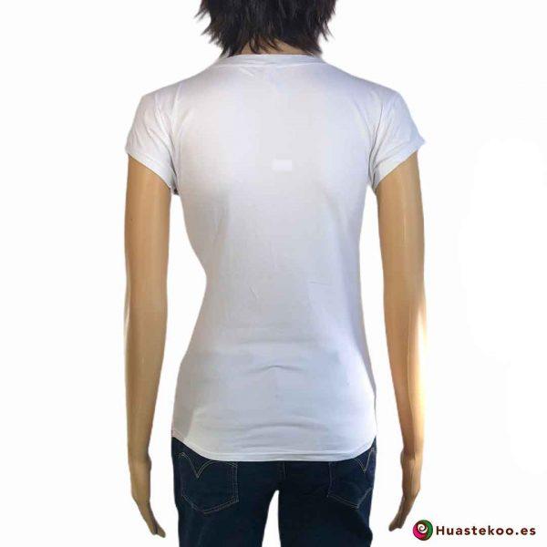 Blusa Mexicana de Calaveras Ref. H00039 a la venta en la tienda online de regalos mexicanos Huastekoo España - 2