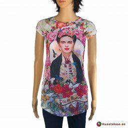 Comprar Blusa Mexicana Fridalia H00036 a la venta en la tienda de regalos mexicanos Huastekoo España
