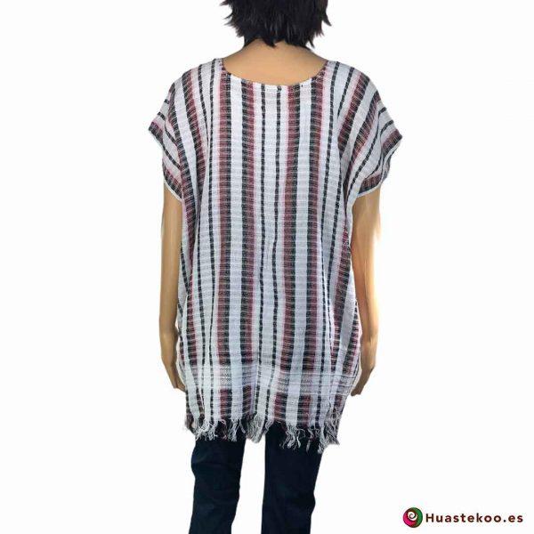Blusón Mexicano de Telar H00041 - Tienda de Regalos y Ropa Mexicana Huastekoo España - 2