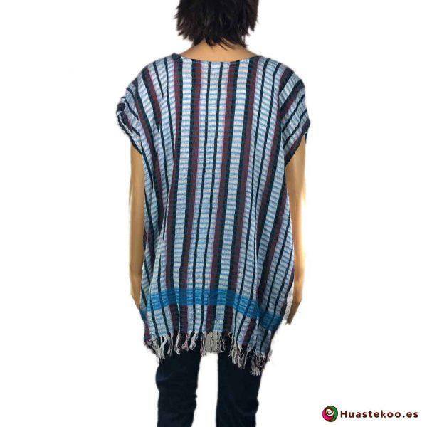 Blusón Mexicano de Telar H00042 - Tienda Online de regalos y Ropa Mexicana Huastekoo España - 2