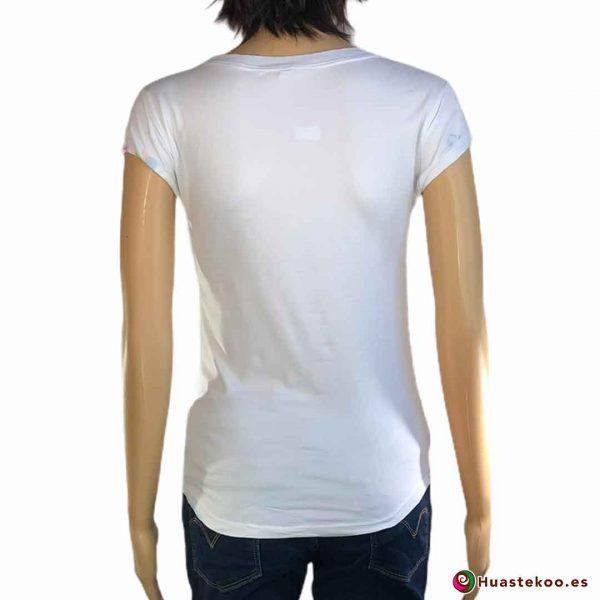 Blusa Camiseta Calaveras H000040 - Tienda Mexicana Online - Huastekoo España - 2