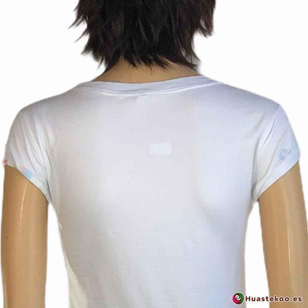 Blusa Camiseta Calaveras H000040 - Tienda Mexicana Online - Huastekoo España - 3