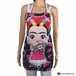 Comprar delantal mexicano Frida lia - Tienda Mexicana Online - Huastekoo España - H00541