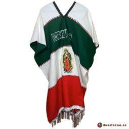 Auténtico gabán o poncho mexicano - Tienda de ropa mexicana Huastekoo España - H00025