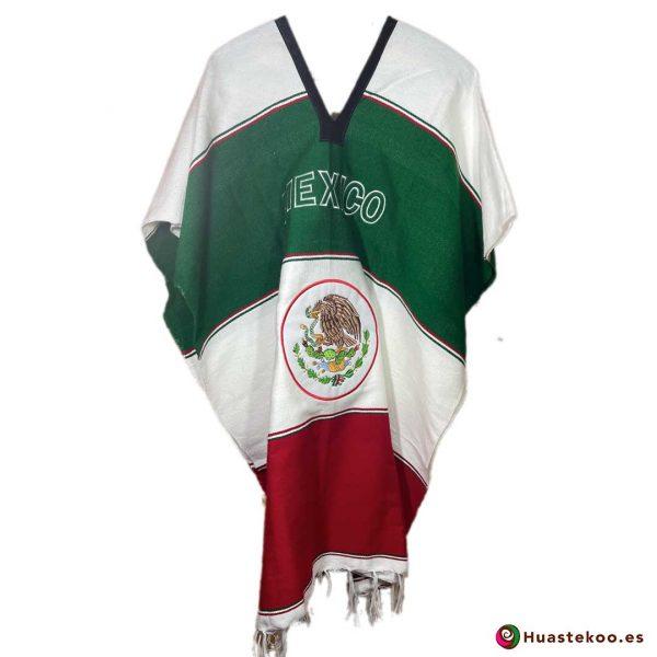 Comprar gabán o poncho mexicano a la venta en la tienda online de ropa mexicana Huastekoo España - H00775