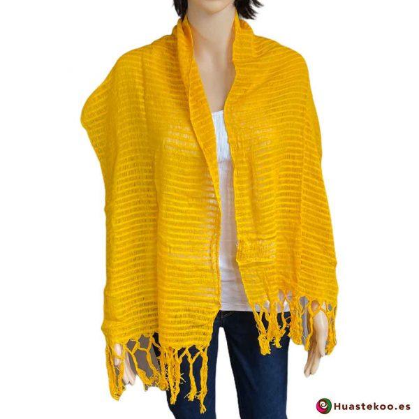 Comprar rebozo o fular mexicano en la tienda de ropa mexicana online Huastekoo España - H00011 - 3