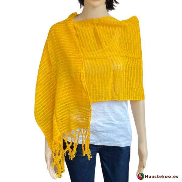 Comprar rebozo o fular mexicano en la tienda de ropa mexicana online Huastekoo España - H00011