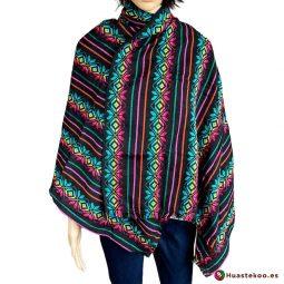 Bonito Rebozo o fular mexicano varios colores - Tienda de Ropa Mexicana Huastekoo España
