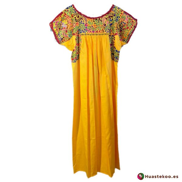 Comprar vestido mexicano San Antonino - Tienda de Ropa Mexicana Huastekoo España - H00723 - 2