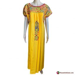 Comprar vestido mexicano San Antonino - Tienda de Ropa Mexicana Huastekoo España - H00723 - 5
