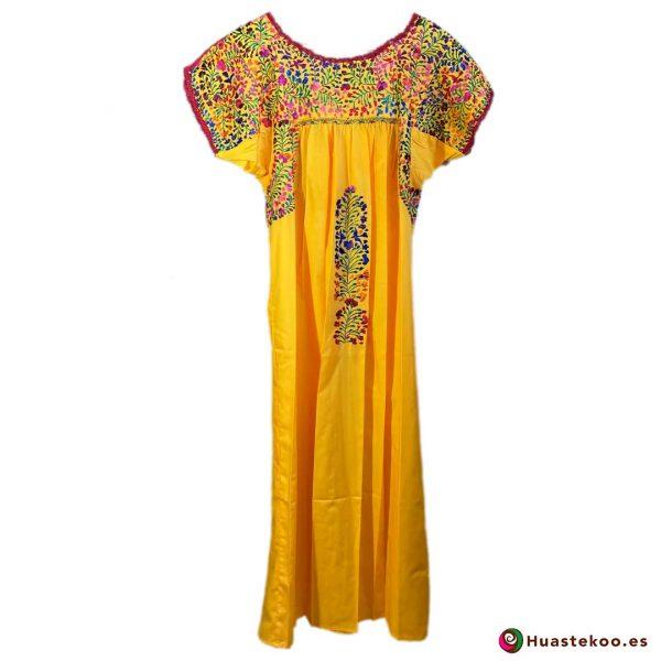 Comprar vestido mexicano San Antonino - Tienda de Ropa Mexicana Huastekoo España - H00723