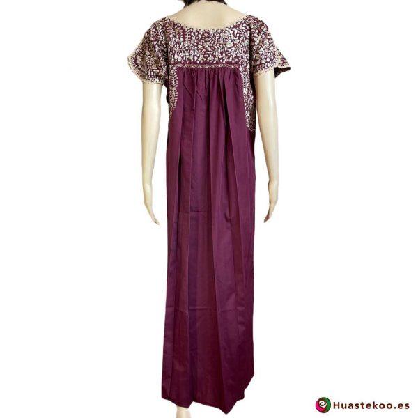 Vestido Mexicano San Antonino - Tienda online de ropa mexicana Huastekoo España - H00728 - 2