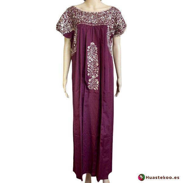 Vestido Mexicano San Antonino - Tienda online de ropa mexicana Huastekoo España - H00728