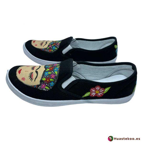 Comprar zapatos mexicanos Frida - Tienda de Regalos Mexicanos Huastekoo España - H00013 - 2