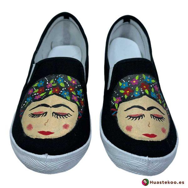 Comprar zapatos mexicanos Frida - Tienda de Regalos Mexicanos Huastekoo España - H00013