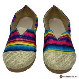 Comprar Zapatos Mexicanos Colorín Yute Natural H00126 a la venta en la tienda online de regalos mexicanos Huastekoo España