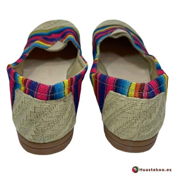 Comprar Zapatos Mexicanos Colorín Yute Natural H00126 a la venta en la tienda online de regalos mexicanos Huastekoo España - 3