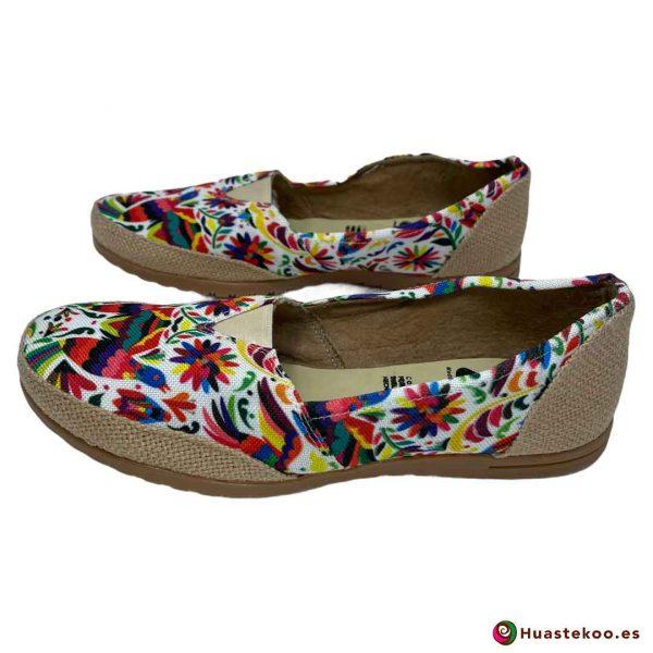 Zapatos mexicanos de Yute natural - Tienda online de regalos mexicanos Huastekoo España - H00126 - 2
