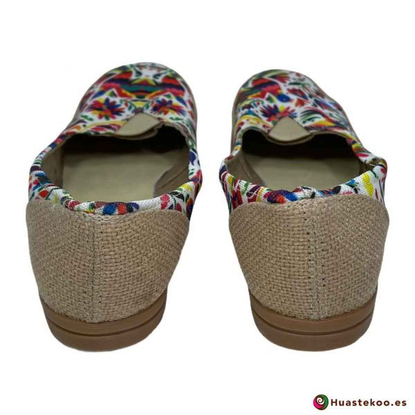 Zapatos mexicanos de Yute natural - Tienda online de regalos mexicanos Huastekoo España - H00126 - 3