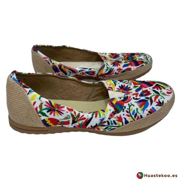 Zapatos mexicanos de Yute natural - Tienda online de regalos mexicanos Huastekoo España - H00126 - 4