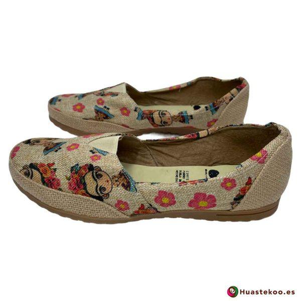 Zapatos mexicanos de Yute natural Frida - Tienda Mexicana Online - Huastekoo España - H00462 - 4