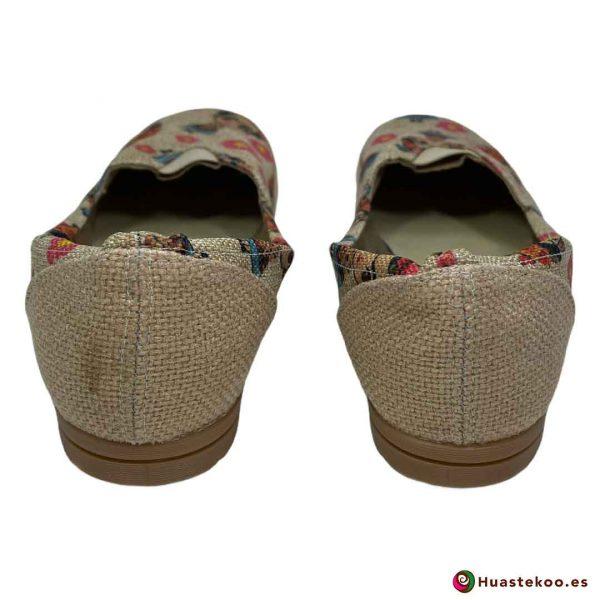 Zapatos mexicanos de Yute natural Frida - Tienda Mexicana Online - Huastekoo España - H00462 - 3